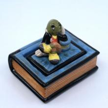 1995 Disney Gallery Jiminy Cricket Trinket Box - ID: julydisneyana21049 Disneyana