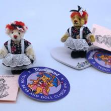 1993 Disneyland Teddy Bear Classic Dolls by Pamm Bacon - ID: julydisneyana21050 Disneyana