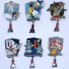 2004 Disneyland Resort Annual Passholder E Ticket Pin Collection - ID: julydisneyana21055 Disneyana