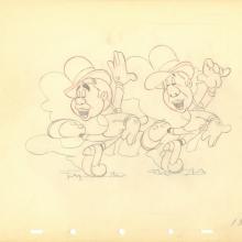 Nifty Nineties Production Drawing  - ID: julynifty20139 Walt Disney