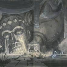Atlantis Concept Drawing - ID: junatlantis21249 Walt Disney