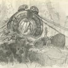 Atlantis Concept Drawing - ID: junatlantis21410 Walt Disney