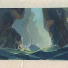 Pebble and the Penguin Concept Painting - ID: junbluth21404 Don Bluth