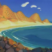 Pebble and the Penguin Concept Painting - ID: junbluth21406 Don Bluth