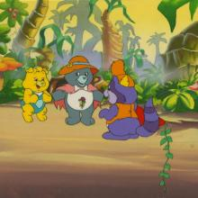 The Care Bears Production Cel and Background - ID: juncarebears21080 DiC