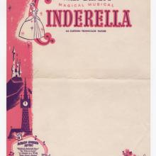 Cinderella Walt Disney Studios Stationery  - ID: juncinderella20267 Walt Disney
