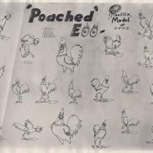 Golden Eggs Photostat Model Sheet  - ID: jundisney20153 Walt Disney