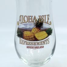 Tiki Room Dole Whip Aloha Isle Refreshments Glass - ID: jundisneyana20222 Disneyana