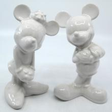 Mickey and Minnie Ceramic Set - ID: jundisneyana20238 Disneyana
