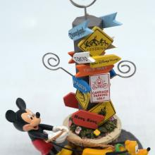 Mickey and Pluto Disney Parks Photo Holder - ID: jundisneyana20254 Disneyana