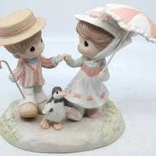 Mary Poppins Jolly Holiday Precious Moments Figurine - ID: jundisneyana20258 Disneyana