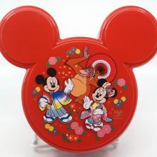 Mickey Tokyo Disneyland Red Bento Box Container - ID: jundisneyana20260 Disneyana