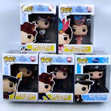 Mary Poppins Set of (5) Funko Pop FIgures - ID: jundisneyana20274 Disneyana