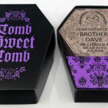 Haunted Mansion Tomb Sweet Tomb Coaster Set - ID: jundisneyana20281 Disneyana