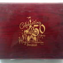 Disneyland 50th Anniversary Trinket Box - ID: jundisneyana20299 Disneyana