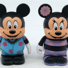 Vinylmation Aulani Resort Hawaii Mickey and Minnie Set - ID: jundisneyana20305 Disneyana