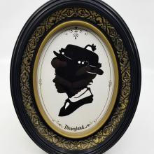 Disneyland Mary Poppins Silhouette - ID: jundisneyana20383 Disneyana