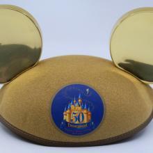 50 Year Anniversary Mickey Mouse Dated Ears - ID: jundisneyana21309 Disneyana