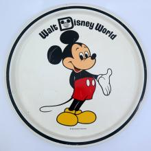 Walt Disney World Souvenir Metal Serving Tray - ID: jundisneyana21316 Disneyana
