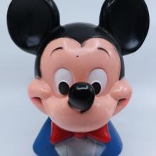 1971 Mickey Mouse Plastic Bank - ID: jundisneyana21332 Disneyana