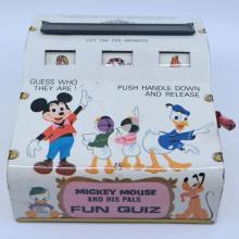 1970s Mickey Mouse and His Pals Fun Quiz Game - ID: jundisneyana21338 Disneyana