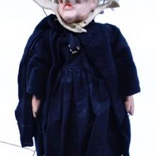 1930s Snow White Hag Marionette Doll by Madame Alexander - ID: jundisneyana21350 Disneyana