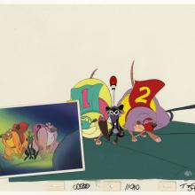 All Dogs Go to Heaven Production Cel & Concept Painting - ID: junheaven21141 Don Bluth
