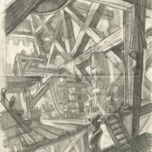 The Hunchback of Notre Dame Layout Drawing - ID: junhunchback21424 Walt Disney