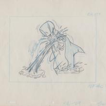 The Impossibles Layout Drawing  - ID: junimpossibles20146 Hanna Barbera