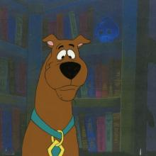 Scooby Doo Where Are You! Production Cel - ID: junscooby21108 Hanna Barbera