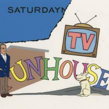 SNL TV Funhouse Limited Edition Title Card Print - ID: junsnl21900 JJ Sedelmaier