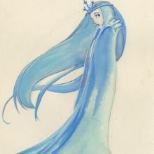 Snow Queen Concept Painting - ID: junsnowqueen21398 Walt Disney