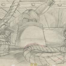 An American Tail Background Layout Drawing - ID: maramerican21084 Don Bluth