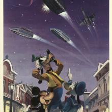 """Star Tours """"Magical Smiles"""" Charles Boyer Signed Limited Edition - ID: marboyer21037 Disneyana"""