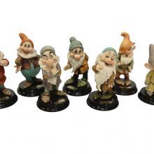 Seven Dwarfs Armani Figurine Set - ID: mardisneyana21001 Disneyana
