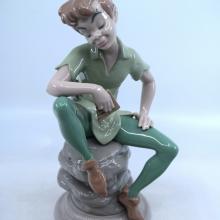 Peter Pan Lladro Figurine - ID: mardisneyana21005 Disneyana