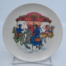 Mary Poppins Carousel Melmac Plate - ID: mardisneyana21307 Disneyana