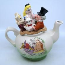 Alice in Wonderland Limited Edition Cardew Teapot - ID: mardisneyana21312 Disneyana