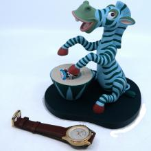 it's a Small World Disneyana 2000 Limited Edition Watch & Figurine - ID: mardisneyana21314 Disneyana
