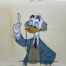 Ludwig Von Drake Production Cel - ID: marludwig21039 Walt Disney