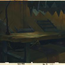 Secret of NIMH Production Background - ID: marnimh21157 Don Bluth