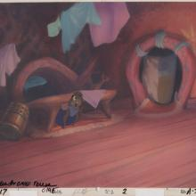 Secret of NIMH Production Background & Model Cel - ID: marnimh21300 Don Bluth