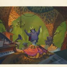 Rock-A-Doodle Color Key Concept - ID: marrockadoodle21130 Don Bluth