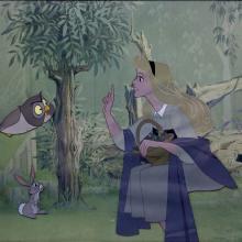 Sleeping Beauty Production Cel - ID: marsleepingbeauty21040 Walt Disney