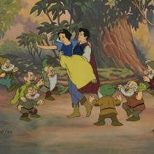 Snow White Hand Painted LImited Edition Cel - ID: marsnowwhite21215 Walt Disney