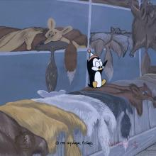 Chilly Will Production Cel & Lantz Background - ID: marwilly21044 Walter Lantz