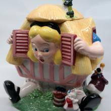 Alice in Wonderland House Cookie Jar - ID: novdisneyana20011 Disneyana