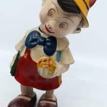 Pinocchio French Wind-Up Toy - ID: novdisneyana20015 Disneyana