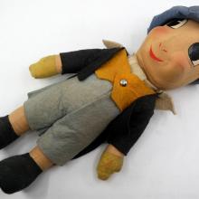 1940 Jiminy Cricket Doll by Krueger - ID: novdisneyana20019 Disneyana