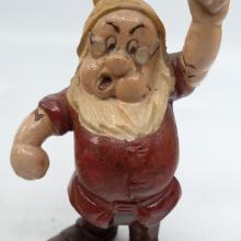 Doc Seiberling Rubber Figurine - ID: novdisneyana20022 Disneyana